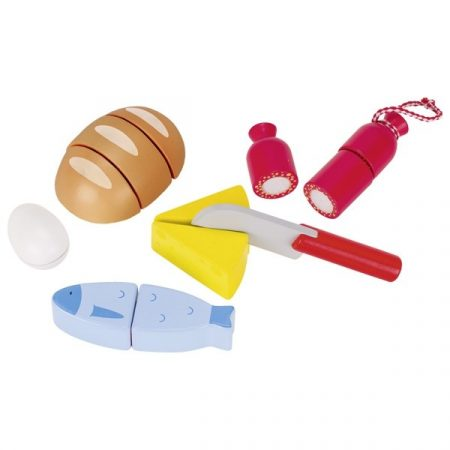 Wooden Toys Food for Kitchen