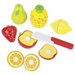 Wooden Toys Food for Kitchen Fruits