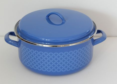 Enamel pot 26 cm - 5,75 L -Royal Blue