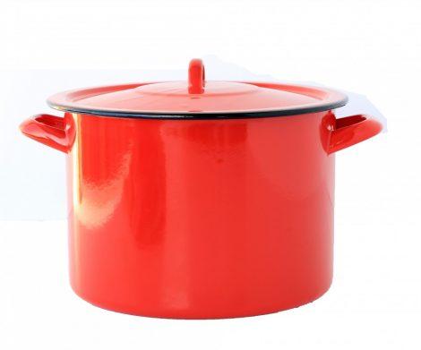 Enamel Pot 24 cm 7,5 L Red