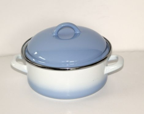 Enamel Pot Blue-White, 18 cm - 1,75 L