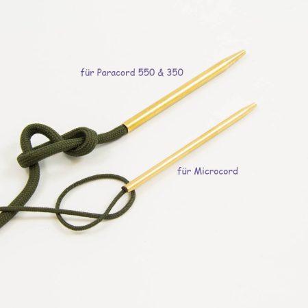 Paracord Nadel für microcord