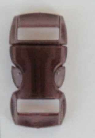 """Schnellverschluss - 10 mm - """"Jelly Colored"""" - Braun"""